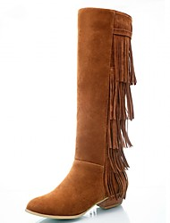 Feminino-Botas-Coturno / Inovador / Botas de Cowboy / Botas de Neve / Botas Cano Curto / Botas Montaria / Botas da Moda / Botas de
