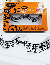 Halloween Carnival Gandmade Paper-cut Craft False Eyelashes Fashionable And Comfortable