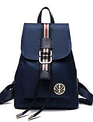 Casual Backpack Women Nylon Purple Blue Black