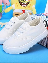 Girls' Flats Comfort Canvas Casual White Black Red Blue