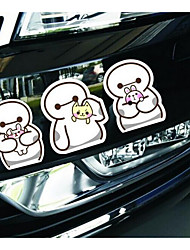 Cute Cartoon Stickers Reflective Creative Door Stickers