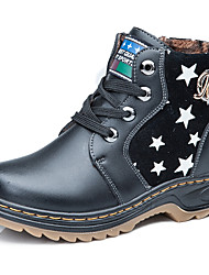 Girl's Boots Others Leather Casual Black / Blue / Brown / Yellow