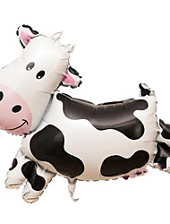 Balloons Holiday Supplies Animal Aluminium Black / White For Boys / For Girls 5 to 7 Years / 8 to 13 Years
