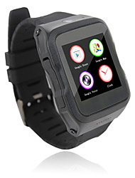Android 5.1 3G Smart watch Phone MTK6580 Quad Core 1.0GHz 512MB RAM 4GB ROM Pedometer Camera GPS Bluetooth 4.0