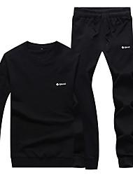 Course / Running Survêtement / Ensemble de Vêtements/Tenus Unisexe Manches longues Respirable / Doux / Confortable Coton Course/Running