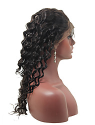 360 Lace Frontal Closure Indian Virgin Hair Full Lace Frontal Band Indian Deep Wave Lace Frontal With Baby Hair