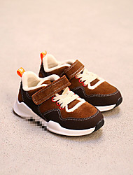 Boy's Athletic Shoes Fall / Winter Others Leather Outdoor / Athletic Flat Heel Magic Tape Black / Coffee Others