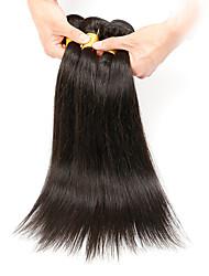 Человека ткет Волосы Бразильские волосы Прямые 3 предмета волосы ткет