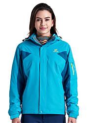 Wandern Windjacken / Softshell Jacken / Oberteile Damen Wasserdicht / Atmungsaktiv / warm halten / Rasche Trocknung / Anti-Ausrottung