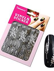 1pcs Sticker Manucure  Manucure Pochoir Maquillage cosmétique Manucure Design