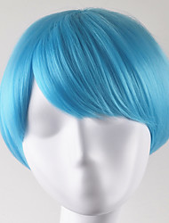 Europe and United States fashion Xie Liu party ballBOBO light blue lorshort hair high temperature wire wigs