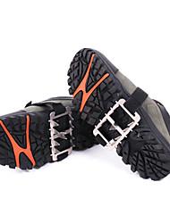 usure extérieure fid en acier inoxydable de dix dents résistantes non chaussures antidérapantes couvrent / chaîne de montagne crampon