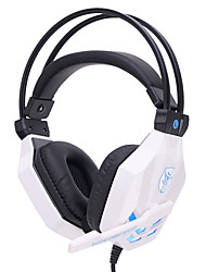 SOYTO Luminous Gaming Wired Headphones Stereo Headset 3.5mm Bass Fone De Ouvido Auriculares Earphones Audifonos With Mic for PC Mobile Phones