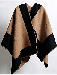 Women Wool Scarf,Vintage / CasualGeometric