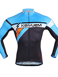 KEIYUEM Cycling Clothing Sets/Suits Unisex Bike Breathable / Quick Dry / Wearable / 3D Pad / Compression / Comfortable
