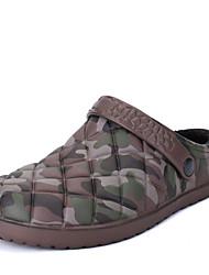 Men's Slippers & Flip-Flops Fashion Indoor Cotton Slippers Casual Flat Heel Slip-on Walking Black / Blue / Brown EU39-43
