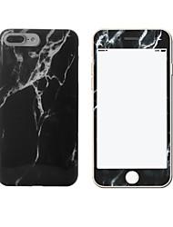Для IMD Кейс для Задняя крышка Кейс для Мрамор Мягкий TPU Apple iPhone 7 Plus / iPhone 7 / iPhone 6s Plus/6 Plus / iPhone 6s/6