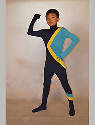 Festival/Holiday Costumes Black/Blue Solid Zentai Kid Lycra