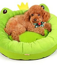Dog Bed Pet Blankets Green Fabric / Corduroy
