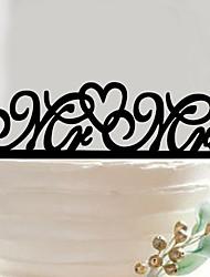 Акрил Свадебные украшения-1шт / комплект Весна / Лето / Осень / Зима Неперсонализированный