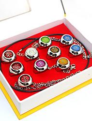 Plus d'accessoires Inspiré par Naruto Akatsuki Anime Accessoires de Cosplay Anneau Argenté Alliage