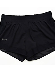Yoga-Hose Baggyhosen / Unten Atmungsaktiv / Leichtes Material / Komfortabel Normal Dehnbar Sportbekleidung Schwarz Damen SportYoga /