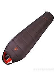 Sleeping Bag Mummy Bag Single 10 Duck DownX100 Camping Traveling Indoor Well-ventilated Waterproof Portable Windproof Rain-Proof Foldable