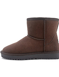 Women's Boots Others Microfibre Casual Black / Brown