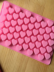 Bakeware Silicone Heart Shaped Baking Molds for Chocolate CM-87