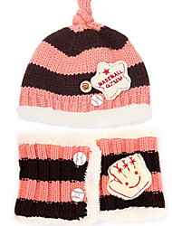 Children 3 to 12 months baby hat Children set of hat on her head Breathable / Comfortable