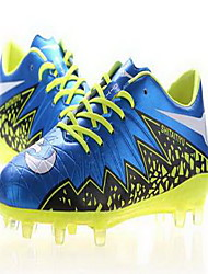 Soccer Shoes Men's Anti-Slip Anti-Shake/Damping Wearproof Breathable Outdoor Low-Top PVC Leather Soccer/Football
