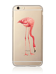 Para Transparente / Diseños Funda Cubierta Trasera Funda Animal Suave TPU para AppleiPhone 7 Plus / iPhone 7 / iPhone 6s Plus/6 Plus /