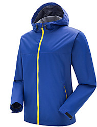Men's Women's Hiking Jacket Waterproof Windproof Anti-Insect Breathable Windbreakers Softshell Jacket Tops for Camping / Hiking Downhill