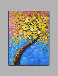 Hand-Painted 100% Hand-Painted Oil Painting Modern Abstract Canvas Oil Painting For Home Decoration Tree Oil painting