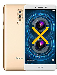 HUAWEI Honor 6x 5.5 2.5D Android 6.0 4G Metal Fingerprint Smartphone (Dual SIM 16nm Octa Core 12MP Dual camera 4GB 32GB 3340mAh)