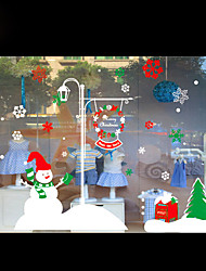 Window Stickers Christmas Decorations Snowflakes