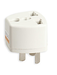 Power Adapter Travel Adaptor 3 pin AU Converter AU Plug Charger For Australia Converter Wall Plug Socket