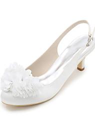 Women's Heels Spring / Summer / Fall Scuff Silk Wedding / Party & Evening
