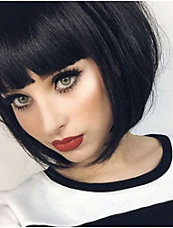 HOT!!!  Natural Looking Short BoB Hairstyle Lace Front & Full Lace Wig with Baby Hair