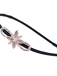 Women Gemstone & Crystal Hair Tie,Casual