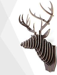 1 PC European Creative Home Wall Adornment Animal Head Home Furnishing Articles