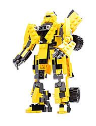 Bonecos & Pelúcias Blocos de Construir para presente Blocos de Construir Guerreiro Carro Robô 5 a 7 Anos 8 a 13 Anos 14 Anos ou Mais