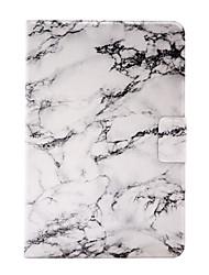 For Apple iPad Mini 4  iPad Mini 3 2 1 Marble Pattern Stent Card PU Leather Material Flat Protective Shell