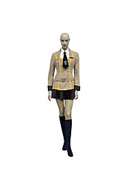 Cosplay Costumes Cosplay Festival/Holiday Halloween Costumes Brown Solid Top / Skirt / More Accessories Unisex Nylon