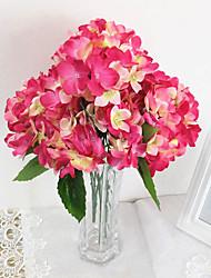 Fleurs de mariage Rond Roses Bouquets Le Party / soirée Organza Env.29cm