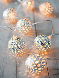 Holiday Light LED Strip 20 Lamp Balls/Set LED String For Wedding Party Fairy Lights Christmas Decoration