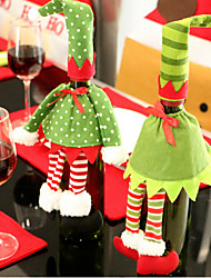Two Pack Sell Christmas Supplies Red Wine Bag Gift Bag Restaurant Creative Bottle Sets