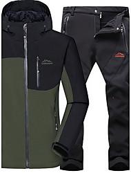 Trilha Blusas / Calças Homens Impermeável / Mantenha Quente / A Prova de Vento / Isolado / Confortável Primavera / Outono / Inverno Tosão