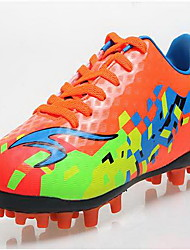 Soccer Shoes Unisex Anti-Slip Anti-Shake/Damping Wearproof Breathable Outdoor Low-Top PU Soccer/Football