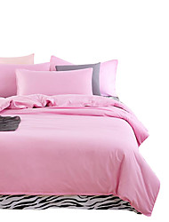 Mingjie Wonderful Pink Bedding Sets 4PCS for Twin Full Queen King Size from China Contian 1 Duvet Cover 1 Flatsheet 2 Pillowcases
